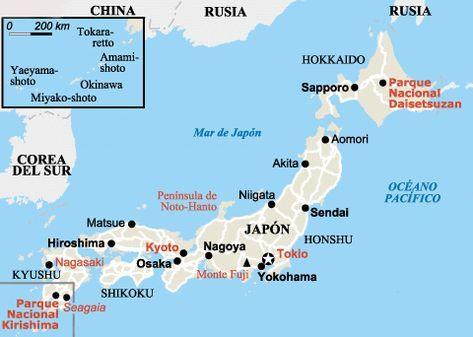 Mapa De Japon Ciudades.Viaje A Japon Por Libre Viaje A Japon Japon Mapa Y Kyoto