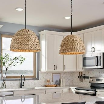 Shop Sea Gull Lighting Englehorn 4 In W Chrome Mini Pendant Light With White Shade At Lowes Com Mini Pendant Lights Pendant Lighting Kitchen Island Lighting