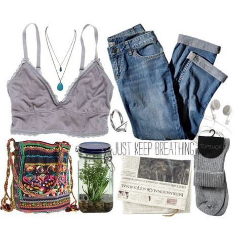 Image about clothes in outfits by anni on We Heart It Cute Casual Outfits, Retro Outfits, Vintage Outfits, Summer Outfits, Hippie Outfits, Grunge Outfits, Fashion Outfits, Fashion Tips, Aesthetic Fashion