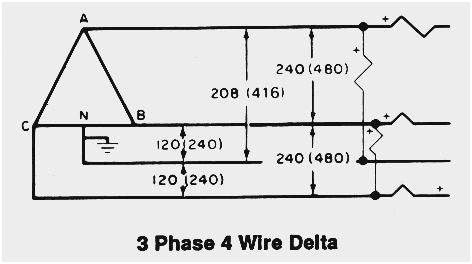 [SCHEMATICS_44OR]  Wiring Diagram For 220 Volt Single Phase Motor (With images) | Diagram, Wire | Delta Wiring Diagram 4 Wires |  | Pinterest