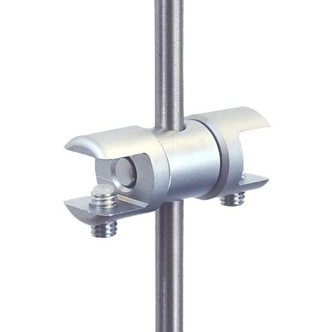 Multi Position Support Double For Panels Shelves Up To 10mm 3 8 Thick Use With 6mm Rods In 2020 Acrylic Shelf Stainless Steel Types Glass Shelves