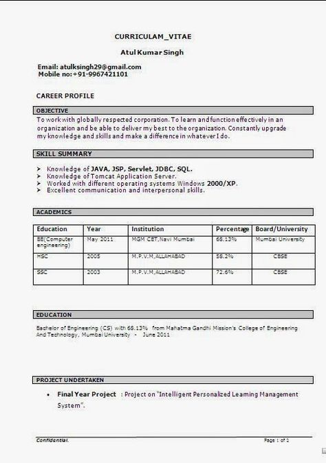 certified resume writer Sample Template Example of Excellent - certified professional resume writer