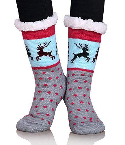 4 Pairs Hallmark Cotton Crew Christmas Holiday Socks Mens Womens Red Green Funny