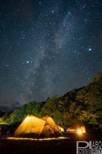 中札内村札内川園地キャンプ場は 車横付けokの無料フリーサイト 体験者レポート 星空が最高に綺麗でした Possibility Laboポジラボ 星空 キャンプ 北海道 キャンプ キャンプ場