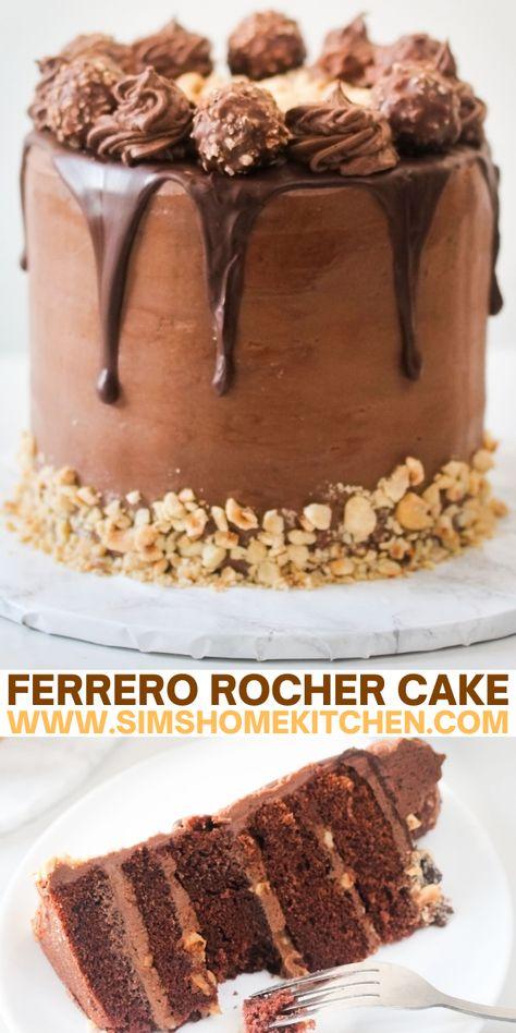 Delicious Cake Recipes, Homemade Cake Recipes, Cupcake Recipes, Yummy Cakes, Sweet Recipes, Cupcake Cakes, Dessert Recipes, Cupcakes, Elegant Desserts