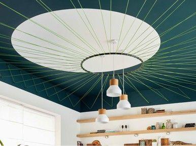 Plafond Sculptural Réalisé à Partir De Sandow For The Home