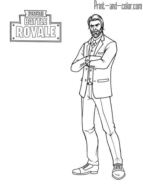Fortnite Battle Royale Coloring Page Reaper Coloring Pages