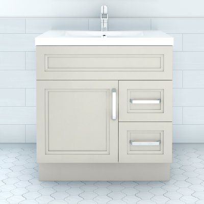 Ebern Designs Syble 30 Single Bathroom Vanity Set Single