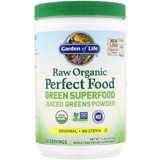 Garden Of Life Raw Organic Perfect Food Green Superfood Original 14 8 Oz 419 G Green Superfood Superfood Organic Recipes