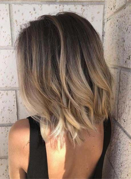 These brown balayage short hair truly are stunning