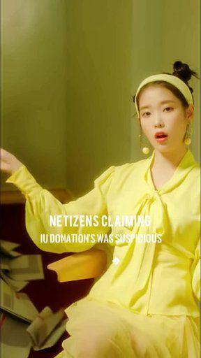 Iu A Suspicious Donation K Pop Amino Suspicious Kpop Pop