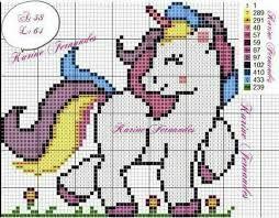 Resultado De Imagen Para Unicornio En Punto De Cruz Para Cojin Bordados En Punto Cruz Puntos De Cruz Divertidos Punto De Cruz Disney