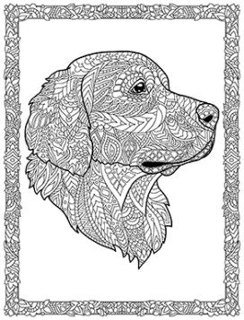Doodle Dogs Cizim Mandala Sanat