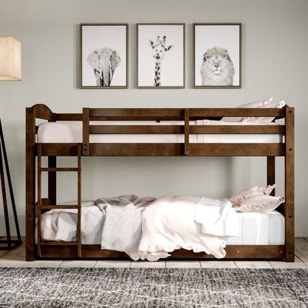 Free Shipping Buy Greyleigh Bellmead Twin Bunk Bed At Walmart Com
