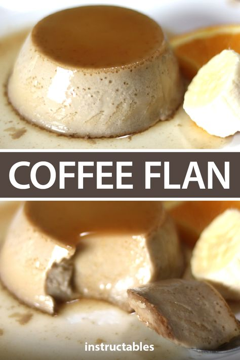Coffee Flan: Flan is a charming little Spanish dessert! It's easy and fast to make and it tastes sooo good. I'll show you how to make traditional coffee flan as well as a few alternatives. Sicilian Recipes, Mexican Food Recipes, Sweet Recipes, Dessert Recipes, Sicilian Food, Spanish Desserts, Just Desserts, Filipino Desserts, Custard Recipes