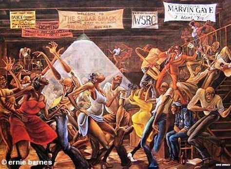 Image result for juke joint painting