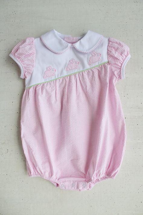Kissy Kissy Baby-Girls Infant Pique Bunny Hop Pink Sunsuit