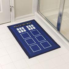 New Unique Mat Custom Doctor Who Tardis Non Slip Bathroom Rug Bathmats Bath Rug
