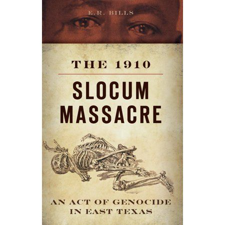 In late July 1910, a shocking number of African Americans in Texas were slaughtered by white mobs in the Slocum area of Anderson County and the Percilla-Augusta region of neighboring Houston County. The number of dead surpassed the casualties of the Rosewood Massacre in Florida and rivaled those of the Tulsa Riots in Oklahoma, but the incident--one of the largest mass murders of blacks in American history--is now largely forgotten. Investigate the facts behind this harrowing act of genocide in E