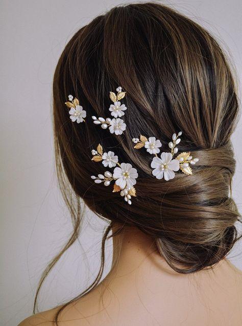 MAYLEE   Floral Bridal Headpiece