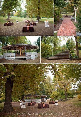 Lower Lawn And Gazebo At Magnolia Gardens In Springdale Arkansas Garden WeddingsOutdoor WeddingsSpringdale