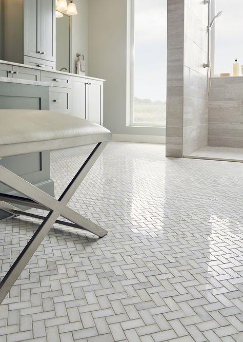 Kitchen Backsplash Marble Tile Herringbone Pattern For 2019