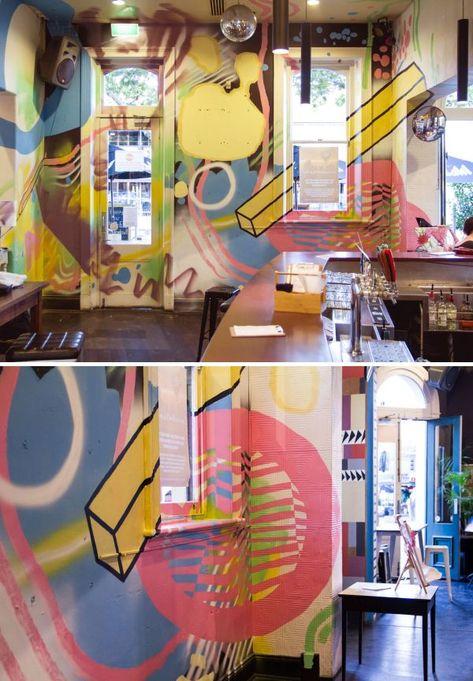 Murals - Interior mural - Big Chip