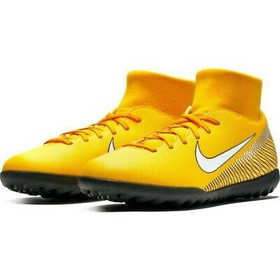 Advertisement Ebay Nike Mercurial Superfly 6 Club Njr Tf Indoor Yellow Mens Soccer Sz 10 A03112 710 In 2020 Mens Soccer Mens Soccer Cleats Soccer Shoes