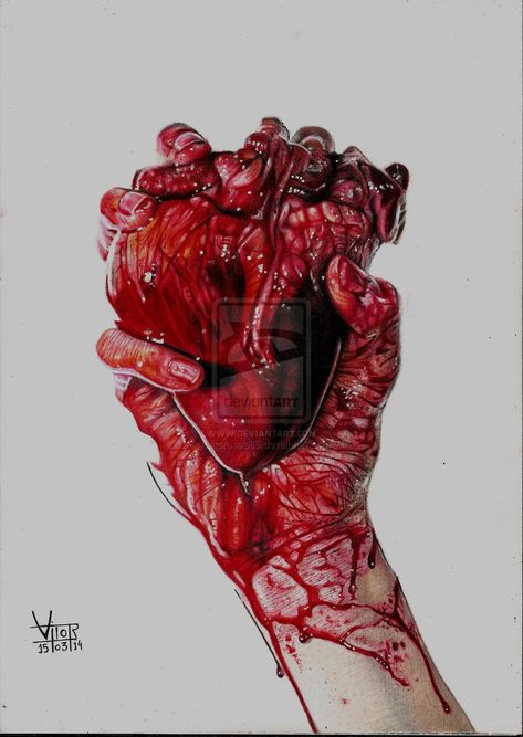 How To Make Clay Coil Hearts Likable Advices Hand Squeezing Heart Drawing