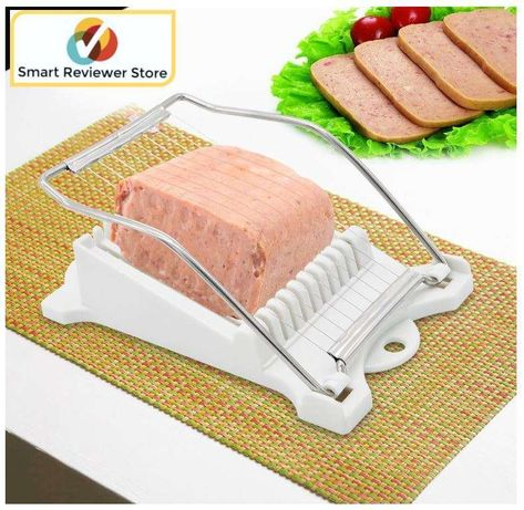 Update International LMS-PP Stainless Steel Luncheon Meat Slicer