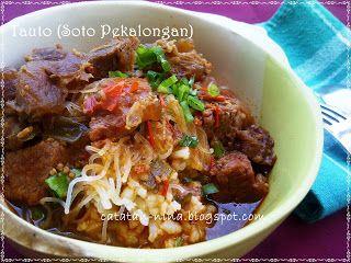 Tauto Soto Pekalongan Catatan Nina Makanan Pedas Resep Masakan Masakan Indonesia