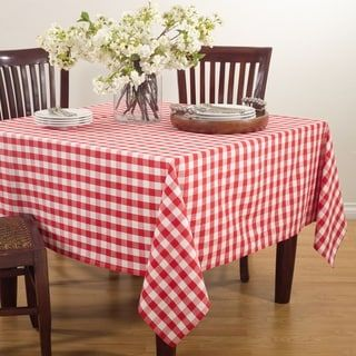 Overstock Com Online Shopping Bedding Furniture Electronics Jewelry Clothing More Gingham Tablecloth Table Linens Table Cloth