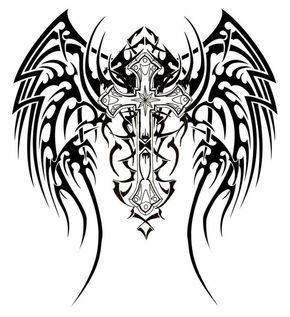 57 Tatuagens De Cruzes Crucifixos E Tercos Tatuagens Cruz