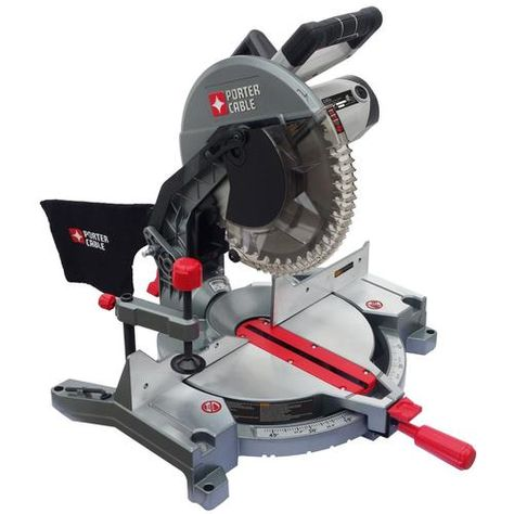 Shop Porter Cable 12 In 15 Amp Single Bevel Compound Miter Saw In The Miter Saws Section Of Lowes Com Porter Cable Compound Mitre Saw Miter Saw