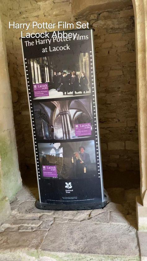 Harry Potter Film Set  Lacock Abbey