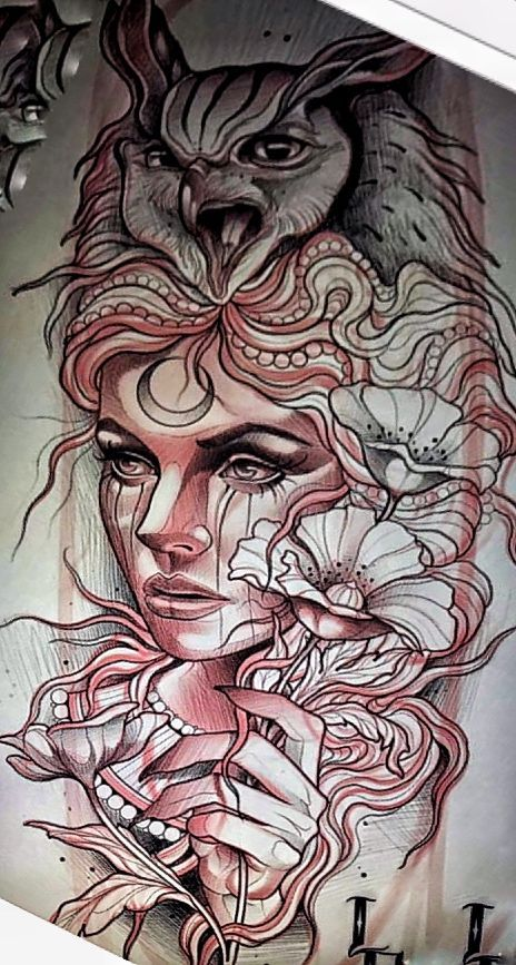 Pin By Theresa Woodward On Tattooos In 2020 Neo Traditional Tattoo Neo Tattoo Traditional Tattoo
