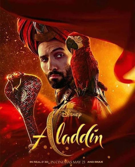 These Aladdin Character Posters Are Gorgeous