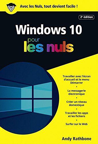 Telecharger Windows 10 Pour Les Nuls Poche 2e Edition Pdf Countim Pdf