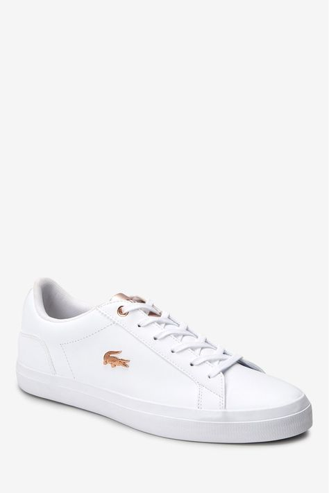 lacoste lerond white womens - 64% OFF