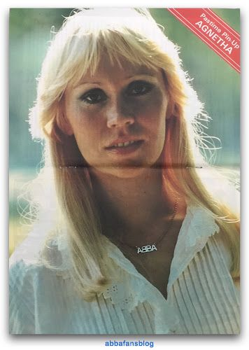 Agnetha poster from issue 25 of the Abba Magazine which was published in June 1980... #Abba #Agnetha http://abbafansblog.blogspot.co.uk/2017/06/agnetha-poster.html