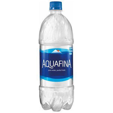 Aquafina Purified Water 1 Liter Bottle Walmart Com In 2020 Drinking Water Water Purifier Dasani Bottle