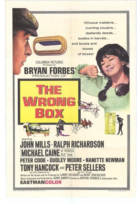 the wrong box film locations