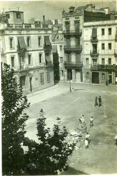 Plaça del diamant. 1934