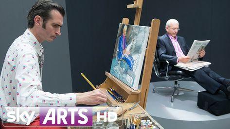 Timelapse Portrait Of Journalist John Humphrys - Portrait Artist Of The ...