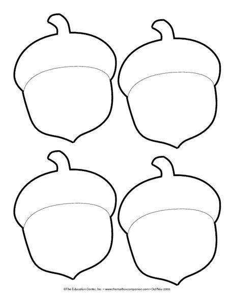 Use Bellotas Agregue Cheerios A La Parte Superior Agregue Bellotas Cheerios Part Artesanias De Otono Manualidades De Otono Para Ninos Plantilla De Hoja