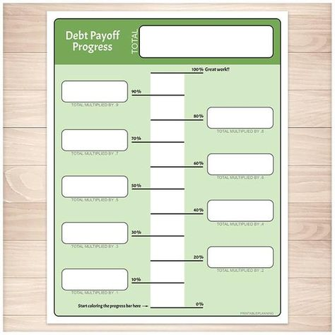 picture about Free Printable Debt Free Charts identified as Checklist of Pinterest credit card debt payoff printables charts observe guidelines