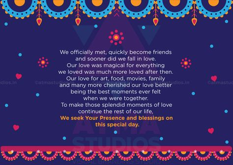 Metro Love Indian Wedding Invite - Print Ready Template #indian - fresh anniversary invitation marathi