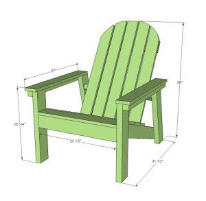 How to Build Your Own Adirondack Chairs - Home Improvement Blog from HOME DEPOT
