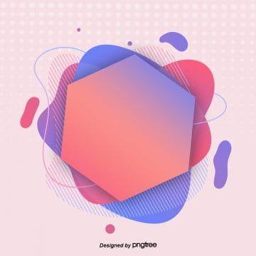 Fashionable Colourful Fluid Gradual Geometric Visual Elements Banner Web Geometry Png Transparent Clipart Image And Psd File For Free Download Desain Pamflet Seni Grafis Infografis