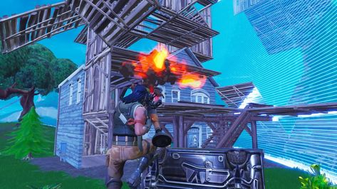 Fortnite Battle Royale Build Battle Highlight #building #BattleRoyale